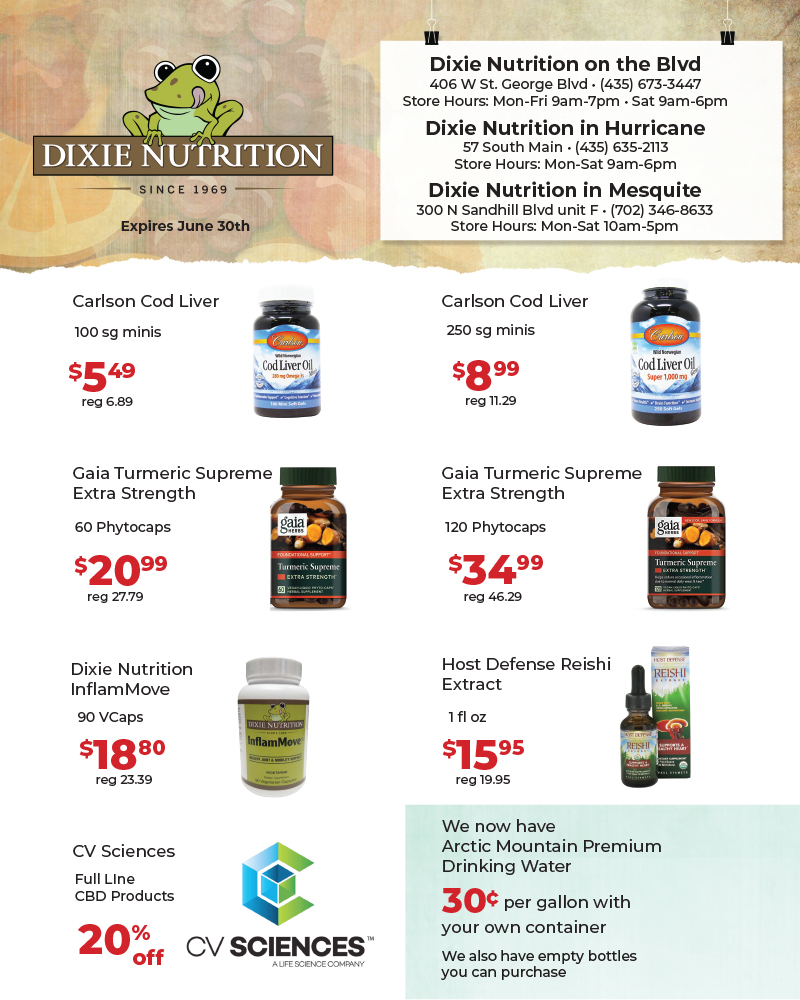 Dixie Nutrition May Ad 1
